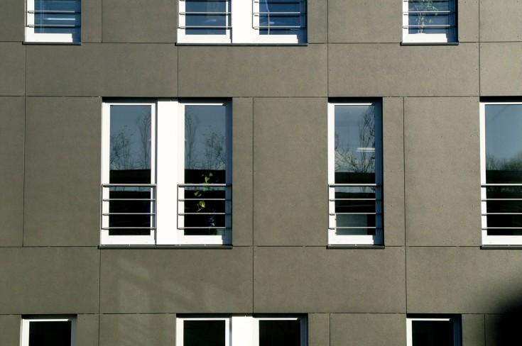 Fassade Steinbeis Papier