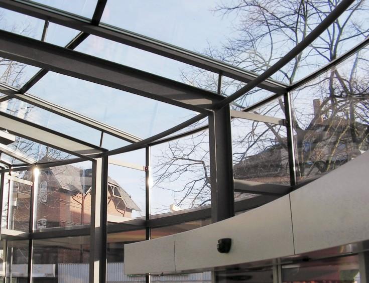 Glasdach Sparkasse Hohenweststedt