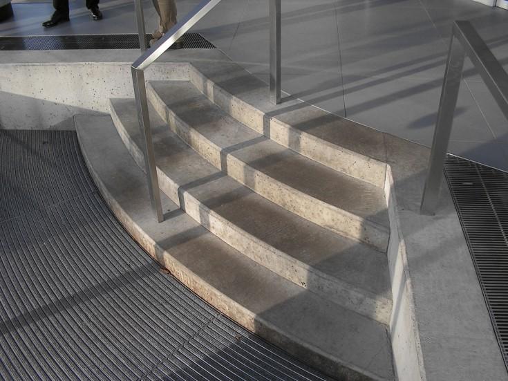 Treppe Sparkasse Hohenweststedt