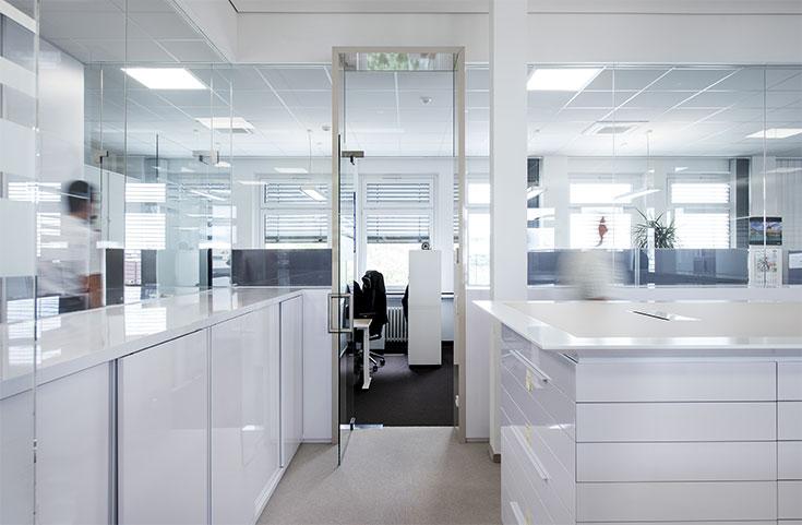 SKF Konstruktionsabteilung