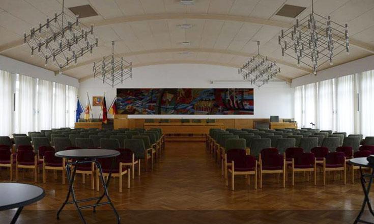 Sitzungssaal Landkreis Stade vorher